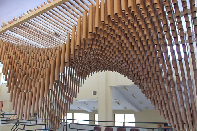 Pavilion_Number_2_MSA team at the University of Mazandaran