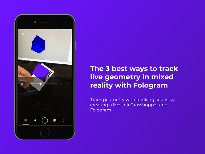 The 3 best ways to track live geometry in mixed reality with Fologram