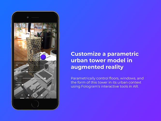 Create and customize your own parametric tower model in an urban context with augmented reality.png