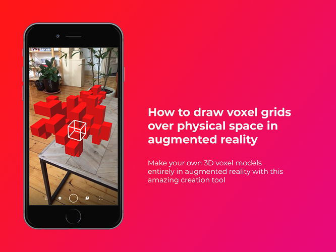 How to draw voxel grids over physical space in augmented reality with Fologram