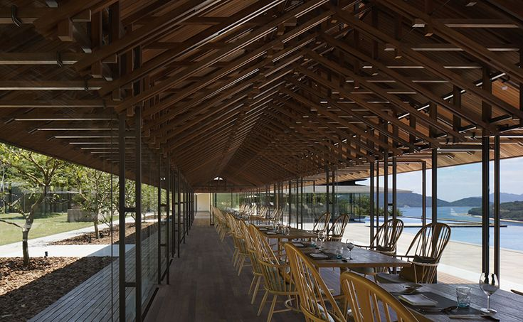 Erretegia Restaurant by Hiroshi Nakamura & NAP1